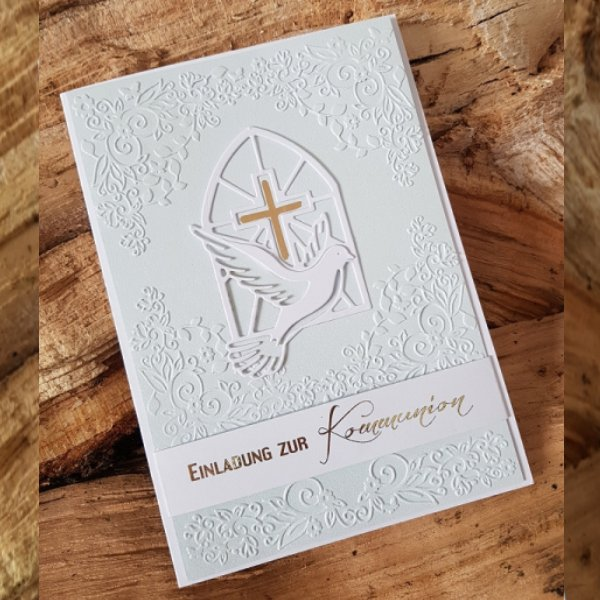 Kommunion Einladungskarte 17