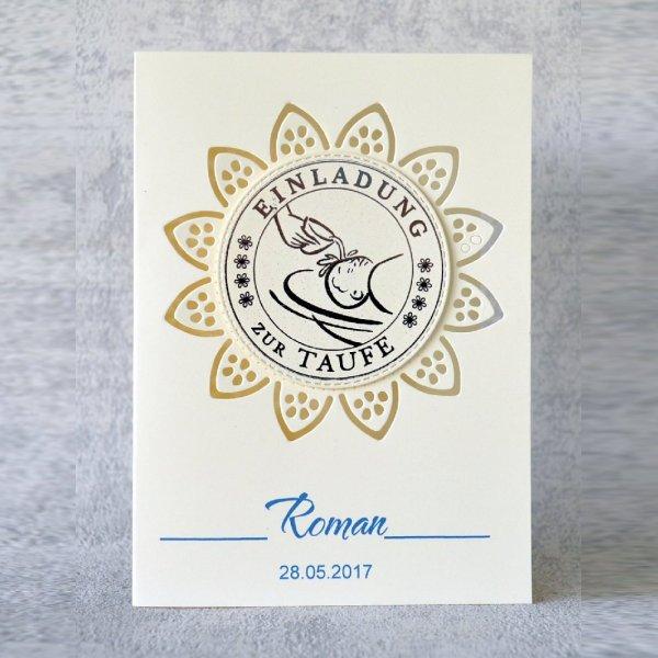 Taufe Einladungskarte 06