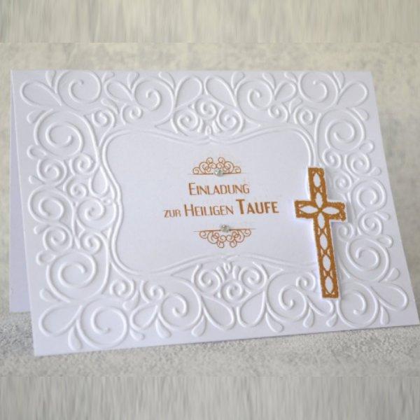 Taufe Einladungskarte 07