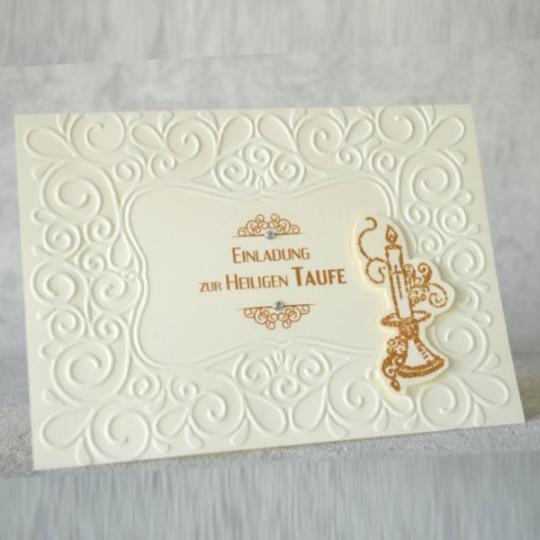 Taufe Einladungskarte 08