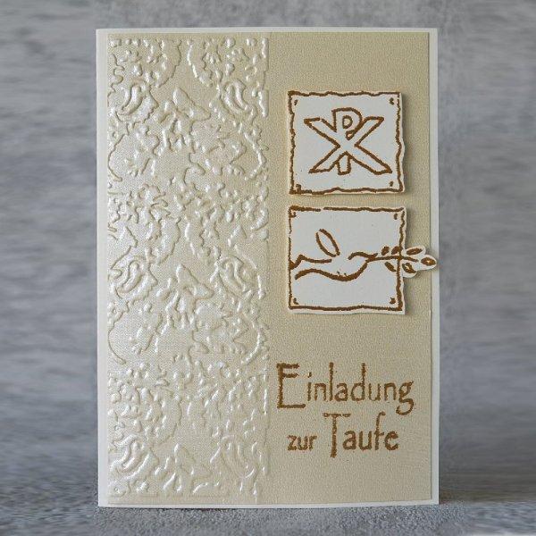Taufe Einladungskarte 09