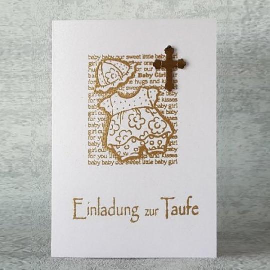 Taufe Einladungskarte 11