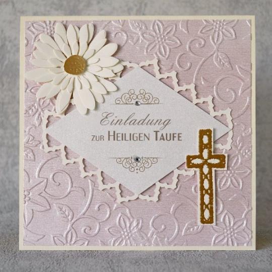 Taufe Einladungskarte 15