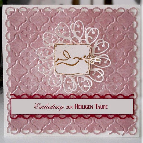 Taufe Einladungskarte 17
