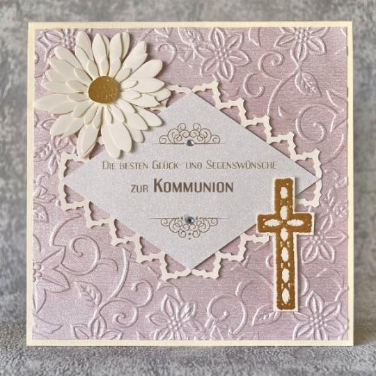 Glückwunschkarte zur Kommunion 01