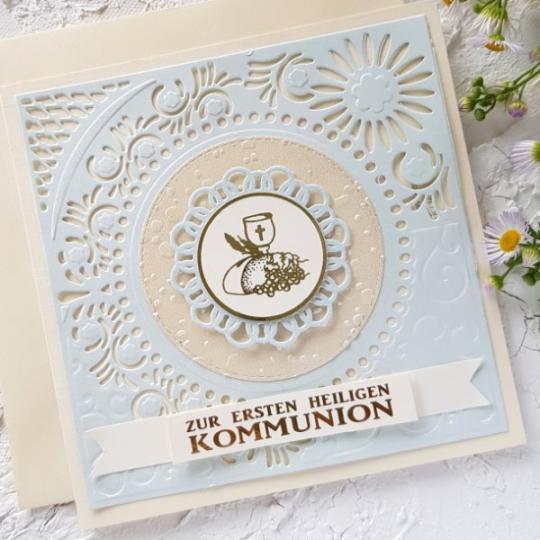 Glückwunschkarte zur Kommunion 08