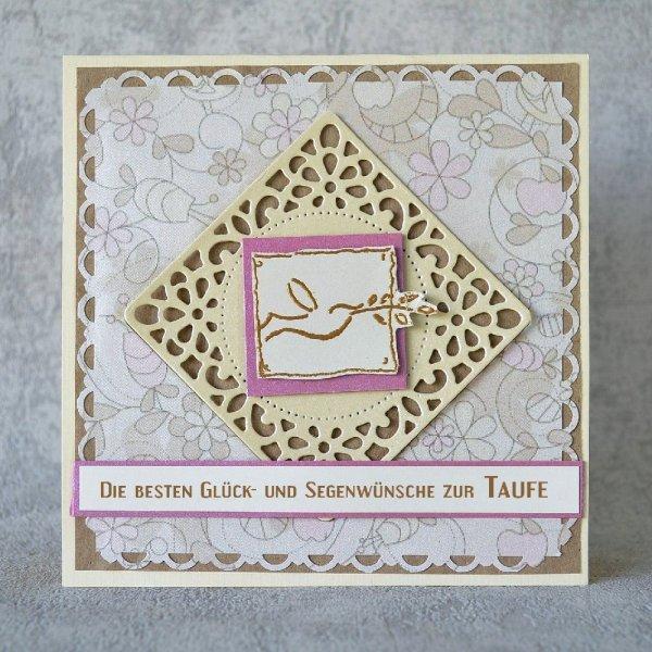 Glückwunschkarte zur Taufe 03