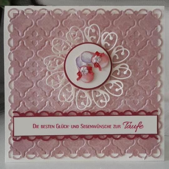 Glückwunschkarte zur Taufe 05