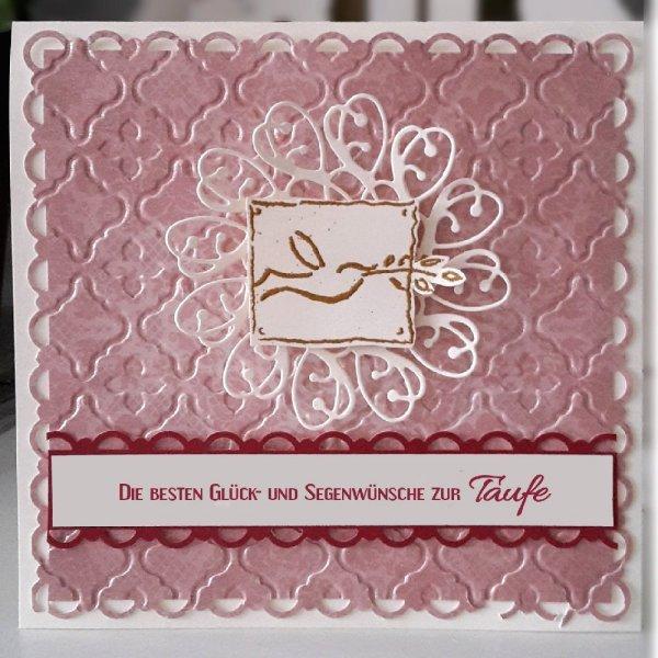 Glückwunschkarte zur Taufe 06