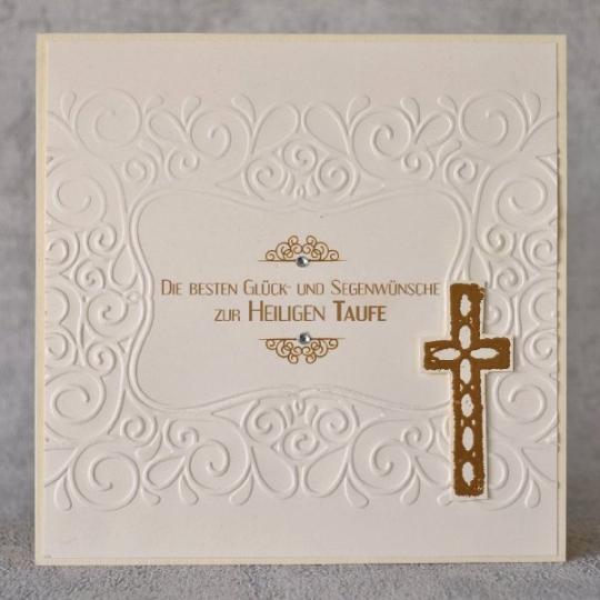 Glückwunschkarte zur Taufe 13