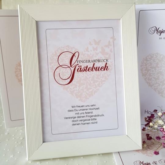"Aufsteller - Gästebuch  ""Maja"" 04"
