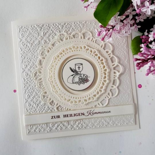Glückwunschkarte zur Kommunion 15