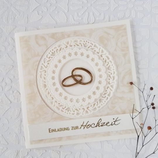 Hochzeit Einladungskarte Handgemacht 003