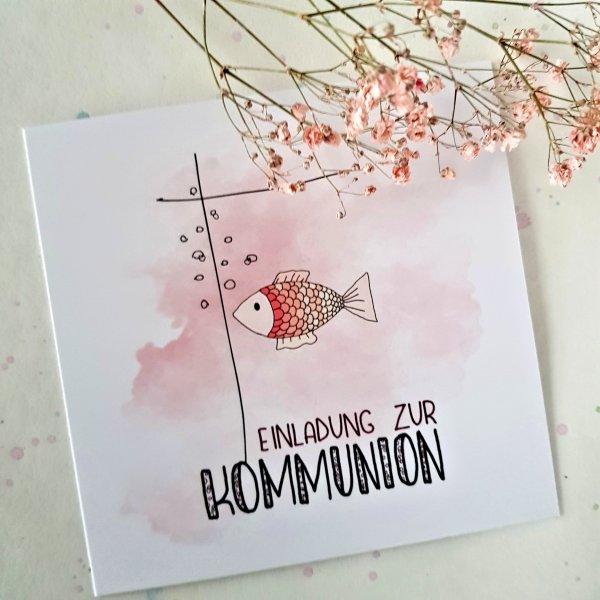 Kommunion Einladungskarte 51