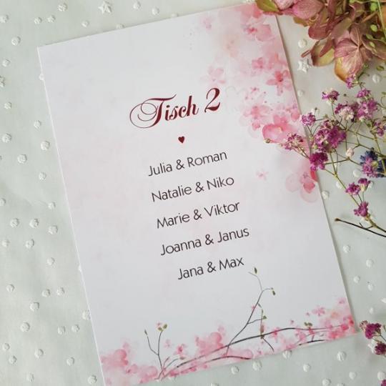 "Tischordnung ""Rose"" 01"