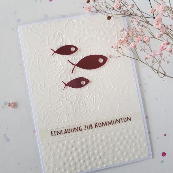 Polnische Einladungskarte-Kommunion 40