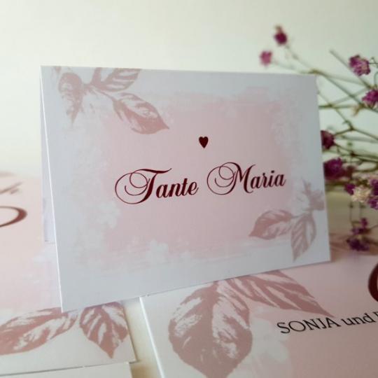 "Tischkarte ""Sonja"" 02"