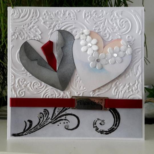 Wunschkarte zur Hochzeit 07