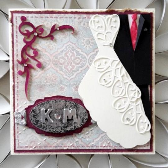 Wunschkarte zur Hochzeit 08